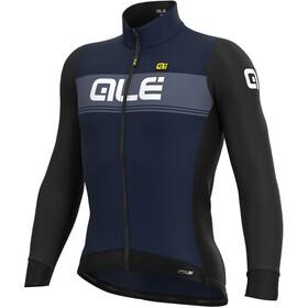 Alé Cycling PR-S Logo Maglia Jersey A Maniche Lunghe Uomo, blu